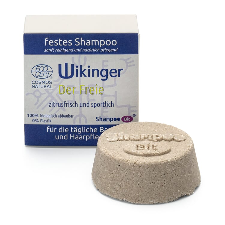 Festes Shampoo Wikinger, Der Freie