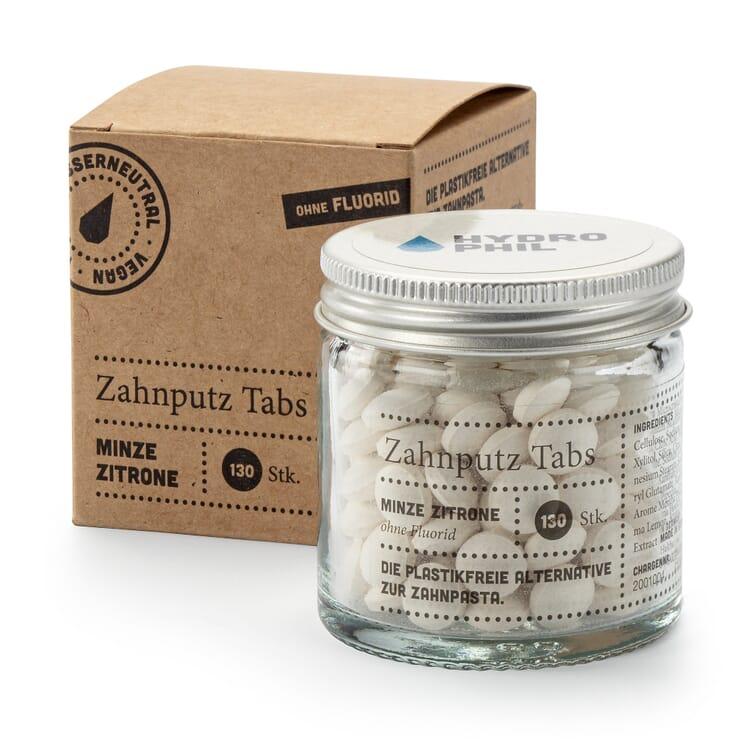 Zahnputz-Tabs, Minze Zitrone