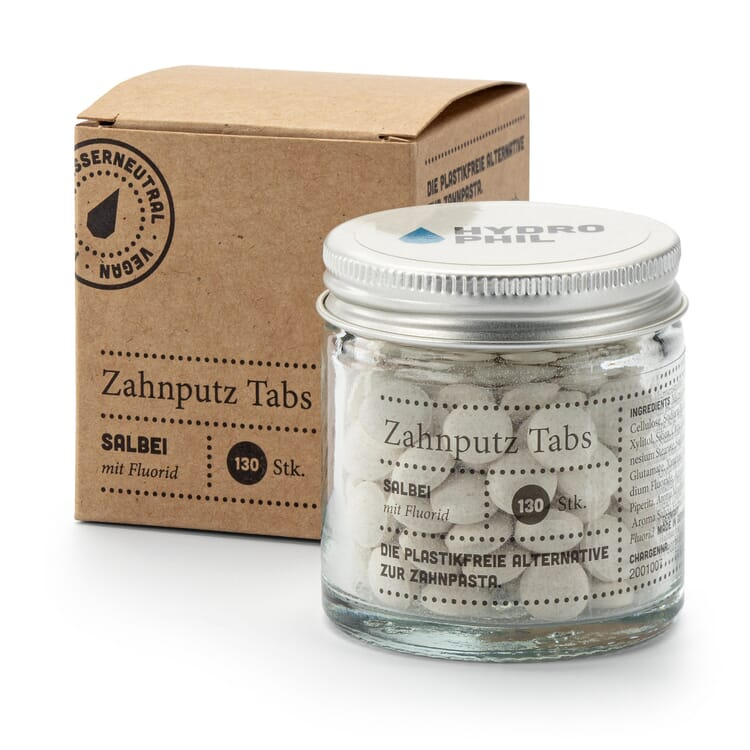 Zahnputz-Tabs, Salbei