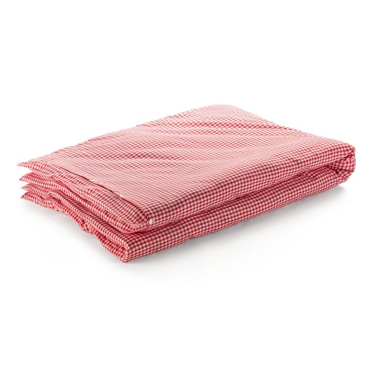 Bettbezug Bauernkaro Rot-Weiß 155 x 220 cm