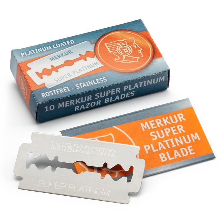 Razor Blades Stainless Steel Platinum