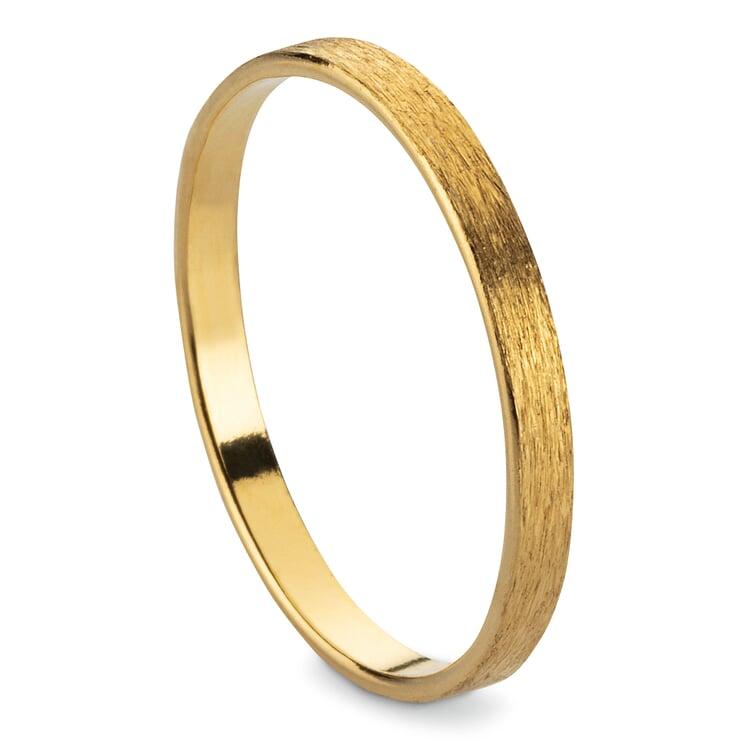 Fingerring Satin-Band Gold 52 (16,6 mm)