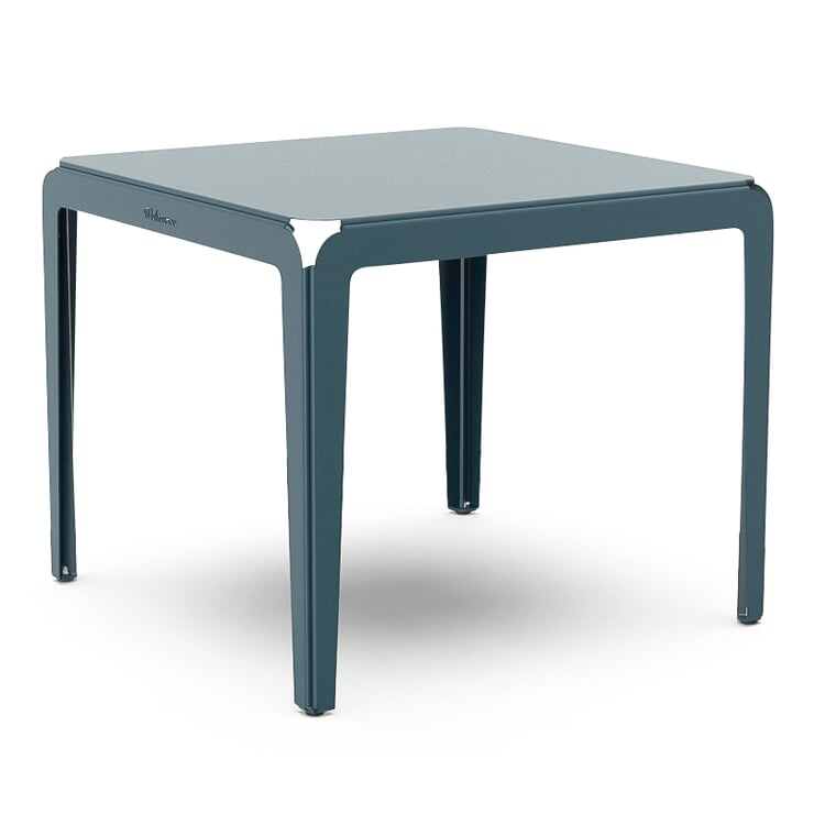 Tisch Bended Table 90 Graublau RAL 5008