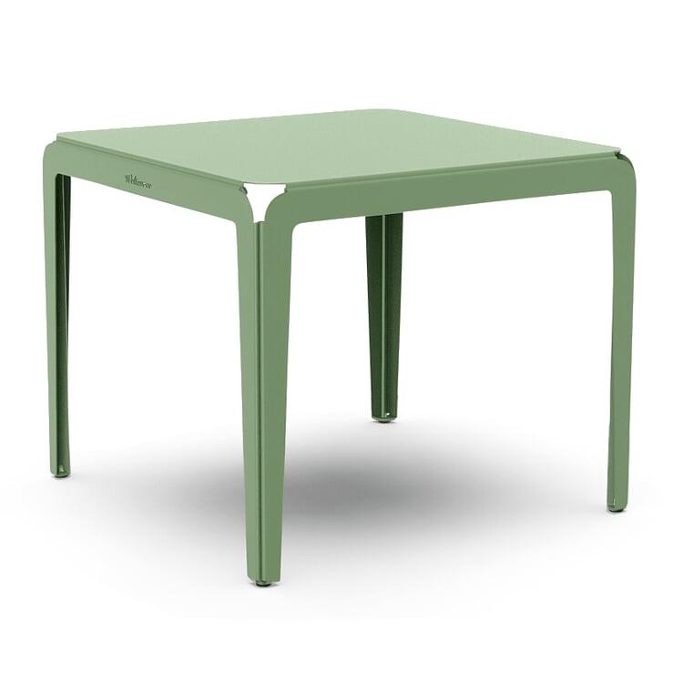 Tisch Bended Table 90 Blassgrün RAL 6021