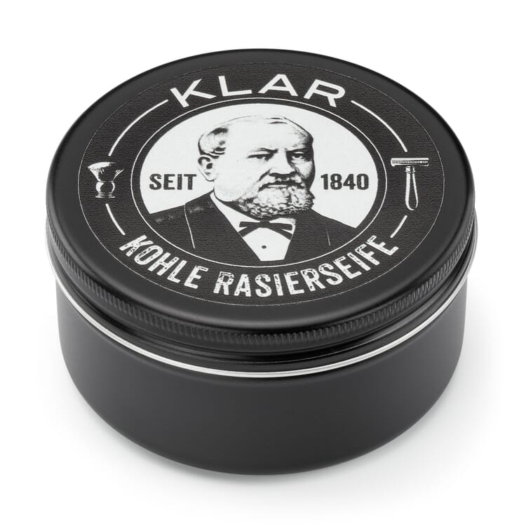 Shaving Soap with Activated Charcoal by Klar