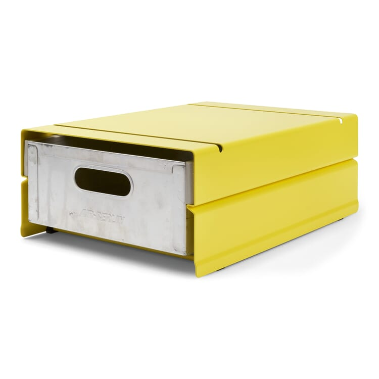 Container ATLAS for 1 Drawer, Sulfur Yellow RAL 1016