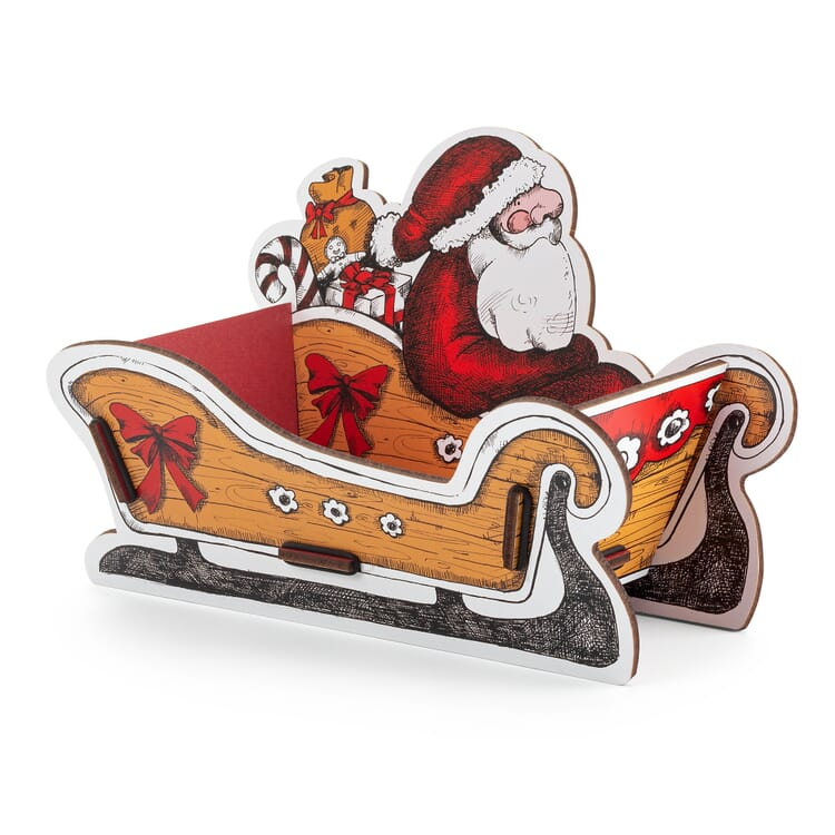 Werkhaus Präsentkorb Weihnachtsmann