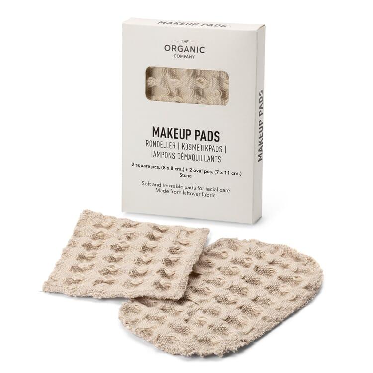 Reusable Make-up Removal Pads, Sand