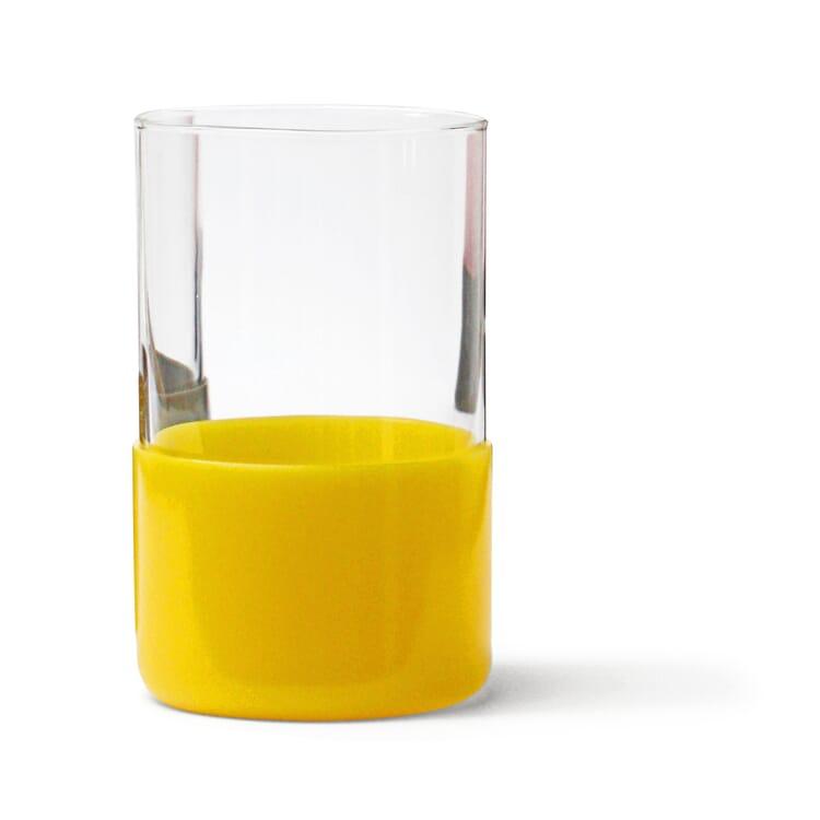 """Toothbrush Mug """"Base"""", Yellow"""