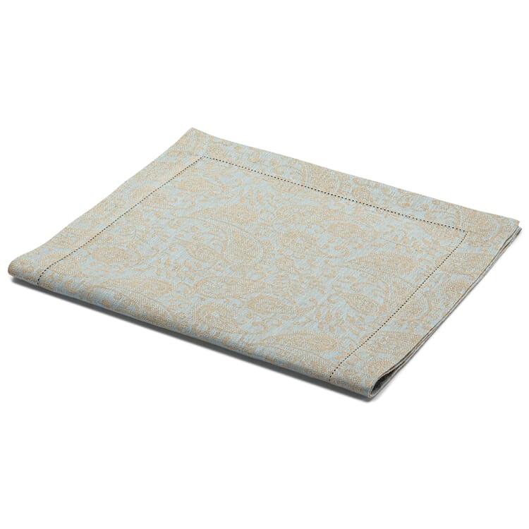 Jacquard-Woven Table Runner Made of Linen