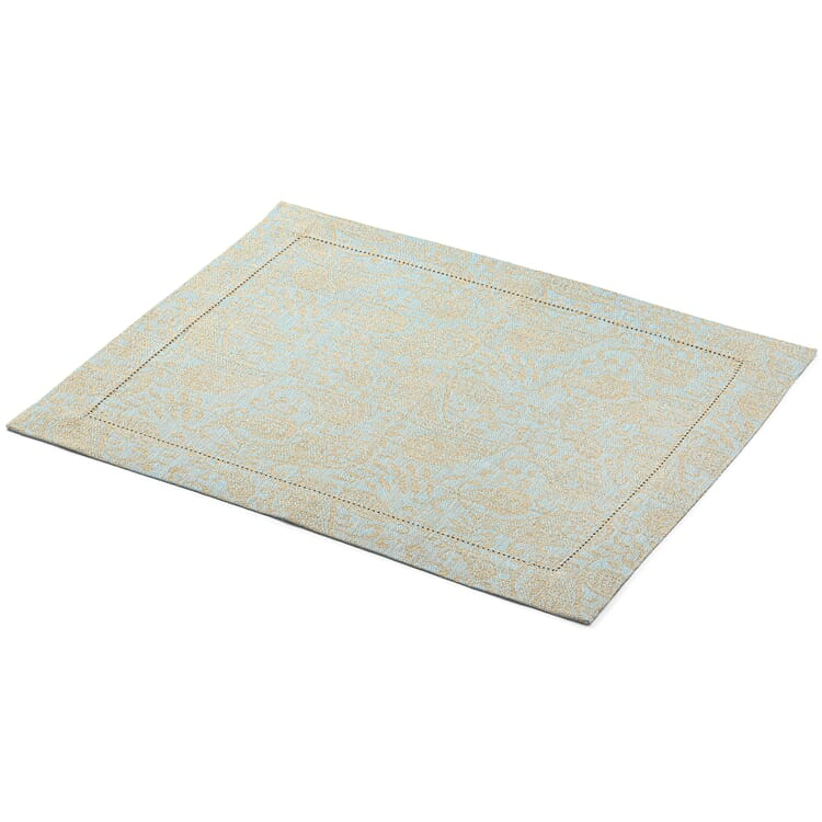 Jacquard-Woven Placemat Made of Linen