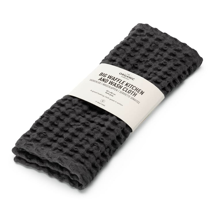 Face Towel, Anthracite