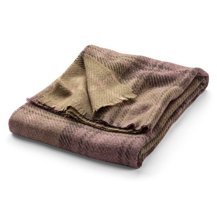 Tartan Blanket Made of Virgin Wool