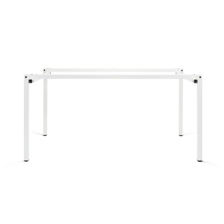 Table Frame ERIK, Pure White RAL 9010
