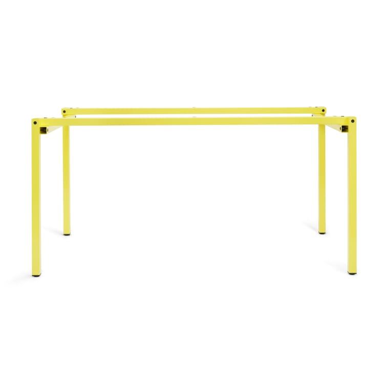 Table Frame ERIK, Sulfur Yellow RAL 1016