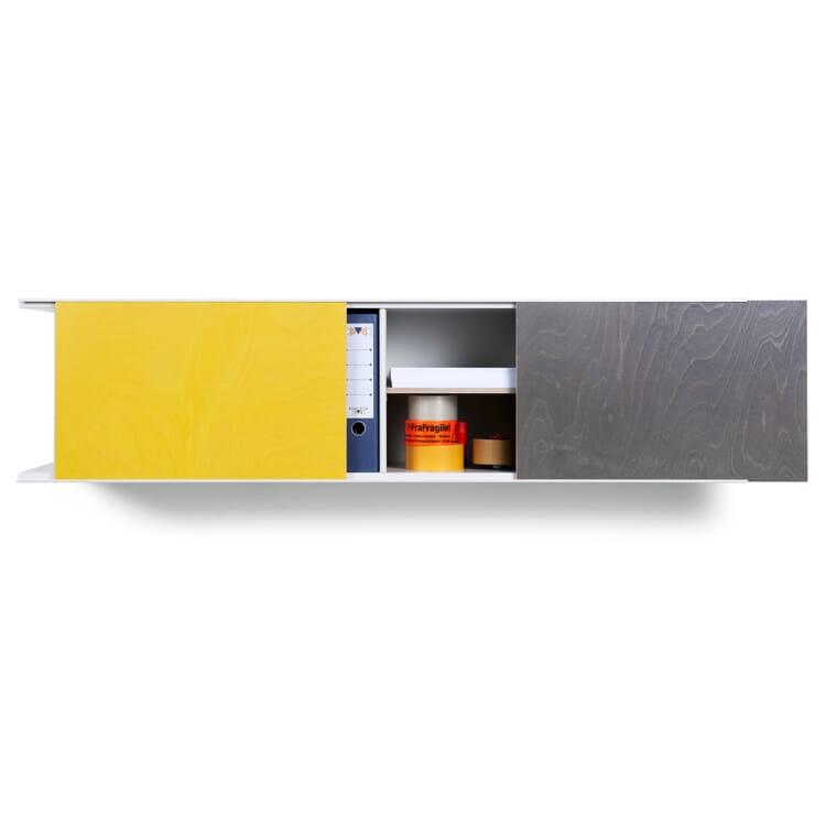 Sliding Door for Rack FIP, Zinc Yellow RAL 1018