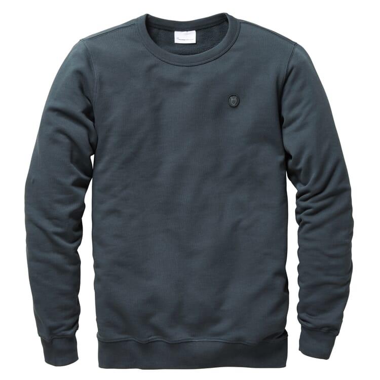 Herren-Sweatshirt, Dunkelgrau