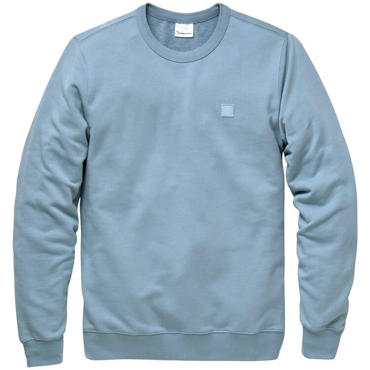 Herren-Sweatshirt, Mittelblau