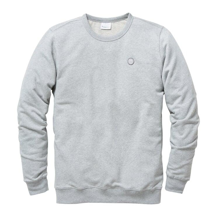 Herren-Sweatshirt Grau-Melange