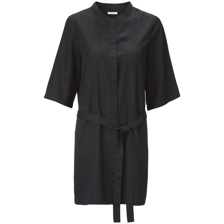 Damen-Kimono Tencel™, Schwarz