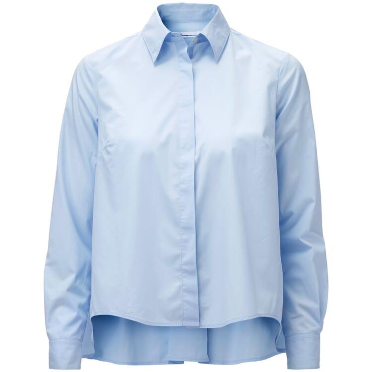 Women's Cotton Blouse, Light Blue
