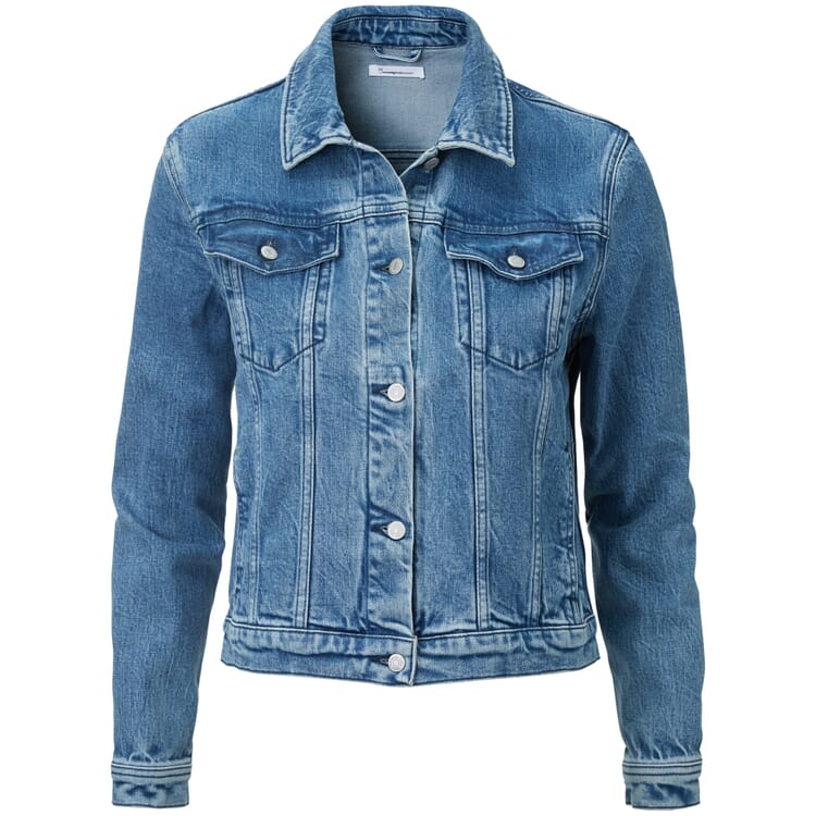 Damen-Jeansjacke, Denim