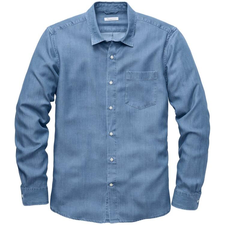 Men's Shirt Tencel™, Medium Blue