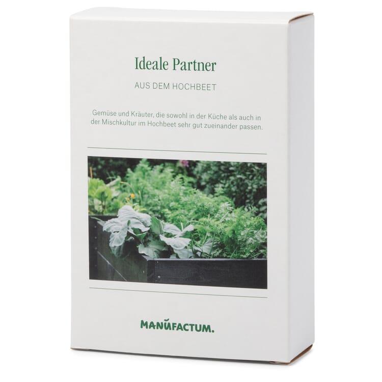 Gemüse anbauen im Hochbeet - ideale Partner