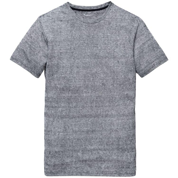 Herren-Leinenshirt, Blau