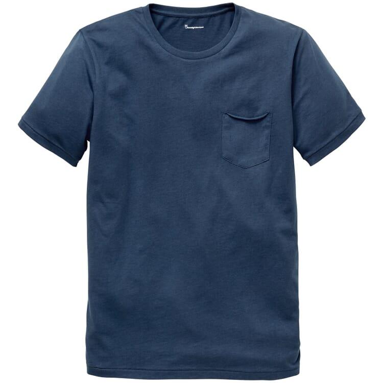 Men's Cotton T-Shirt, Denim
