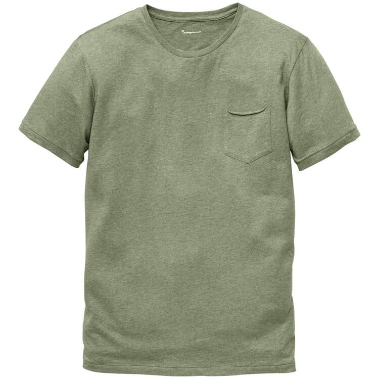 Baumwoll-Shirt, Grün