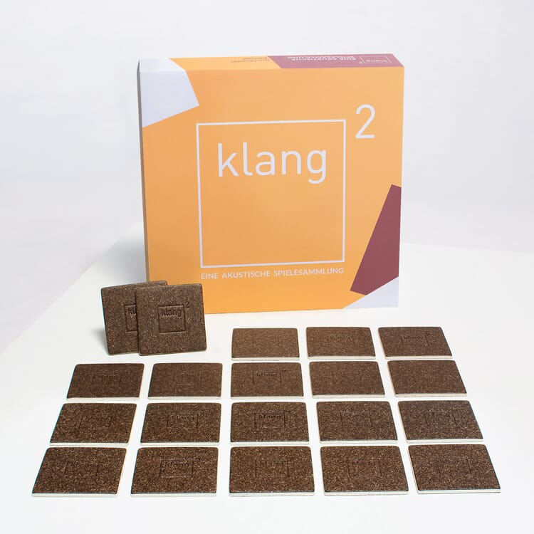 Klang² Gedächtnisspiel Feinkarton