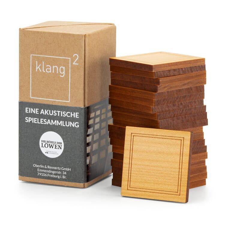 Klang² Gedächtnisspiel Holz, Zypressenholz