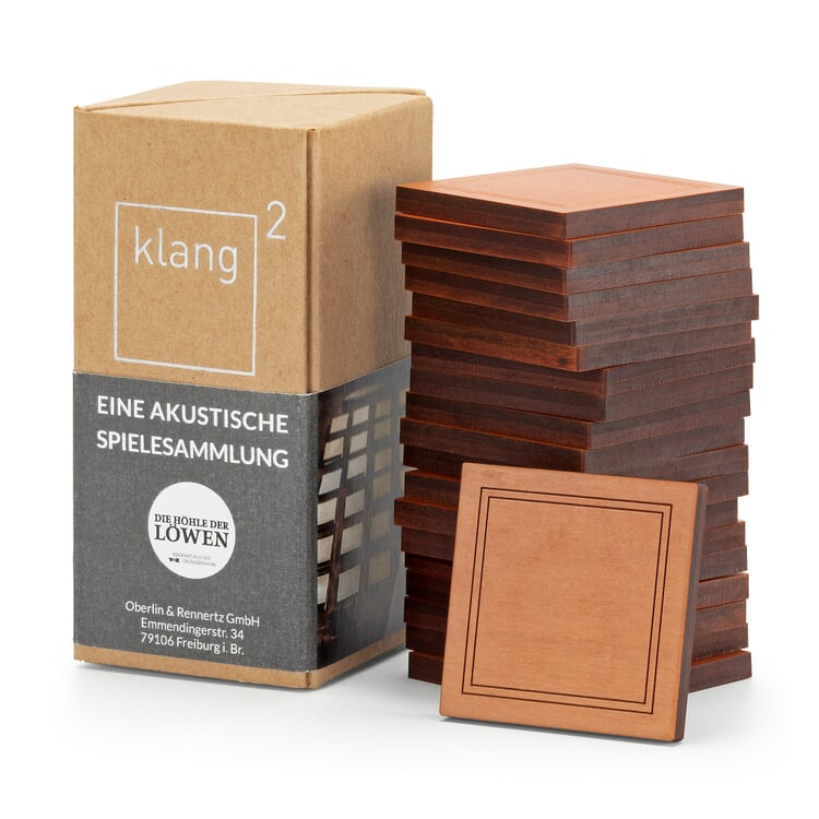 Klang² Gedächtnisspiel Holz Birnenholz