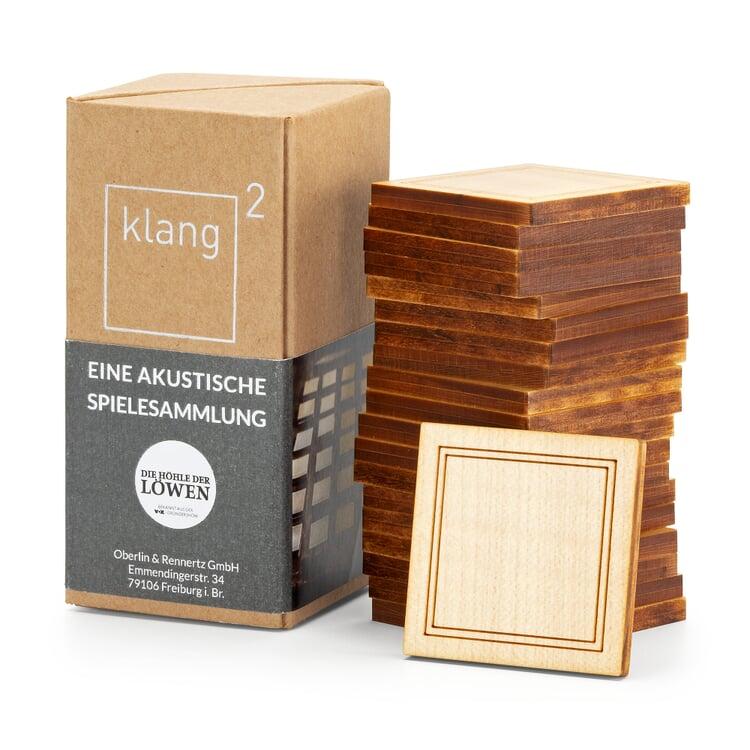 Klang² Gedächtnisspiel Holz Ahornholz