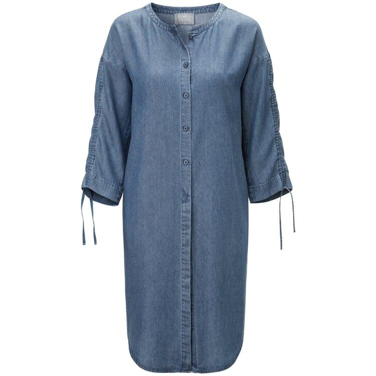 Damenkleid Tencel™ und Leinen Denim