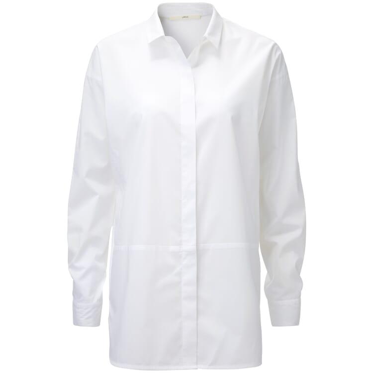 Damen-Langbluse, Weiß