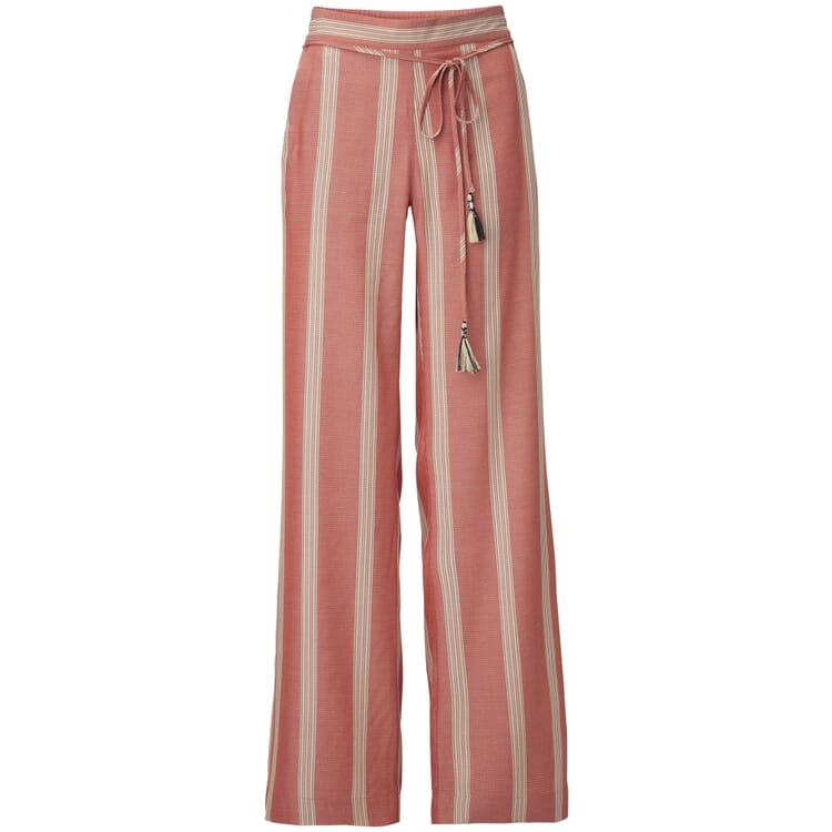 Wide Leg Trousers Marlene Style Made of Viscose
