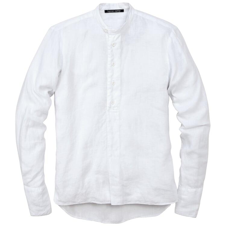 Herren-Schlupfhemd Weiß