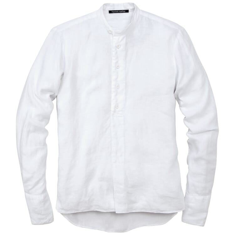 Herren-Schlupfhemd, Weiß