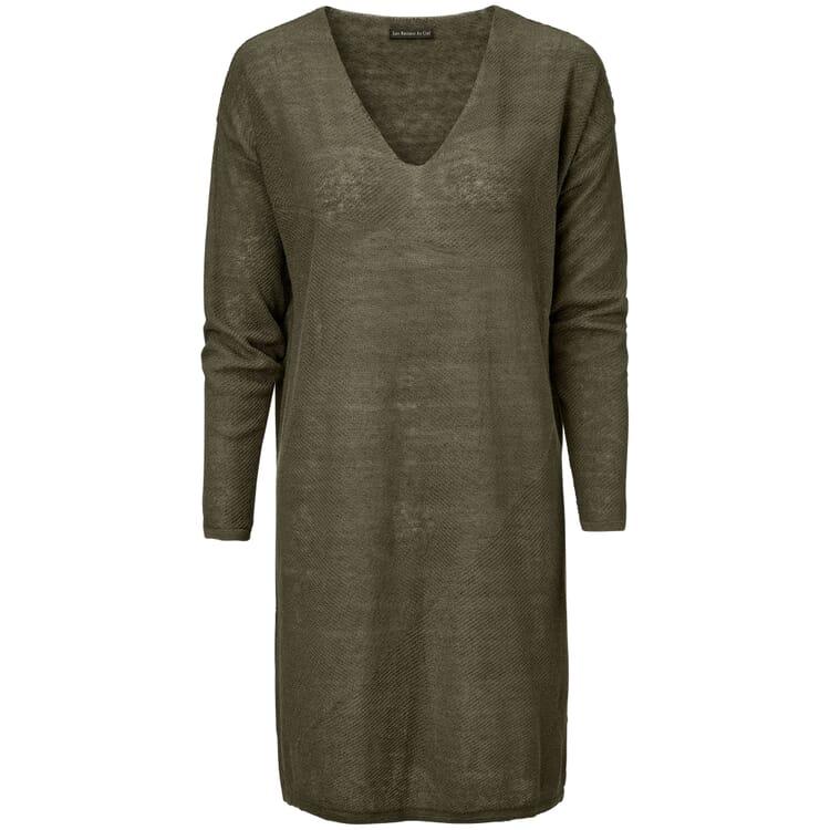 Women's Knit Dress Made of Linen