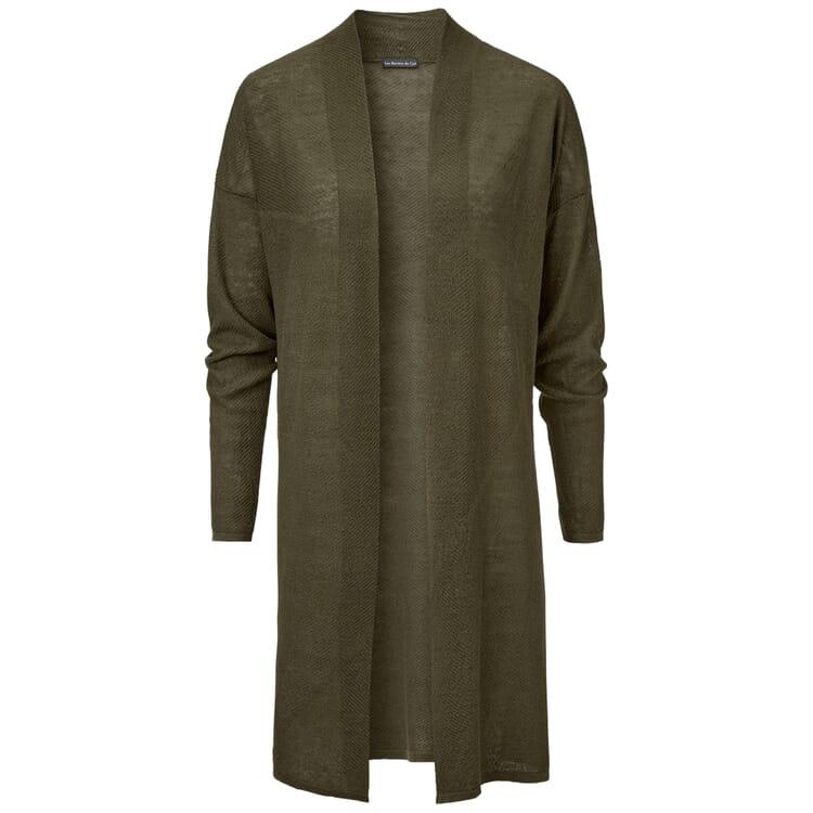 Women's Long Cardigan Made of Linen