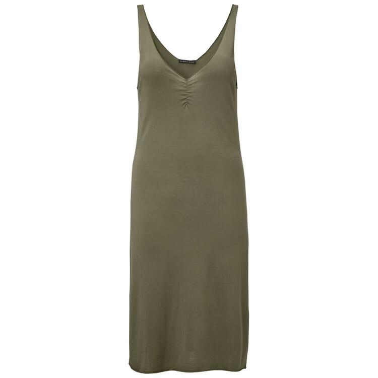 Damen-Jerseyunterkleid, Khaki