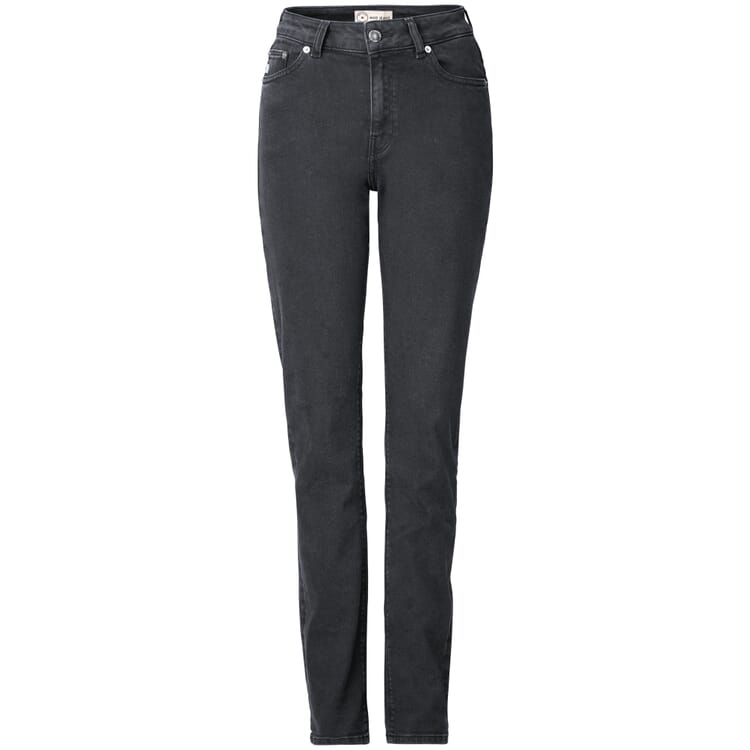 Damenjeans Regular, Stone Black