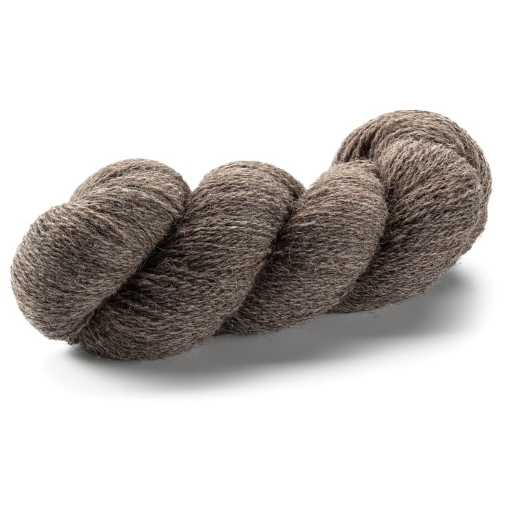 Knitting Wool for a Beanie, Brown