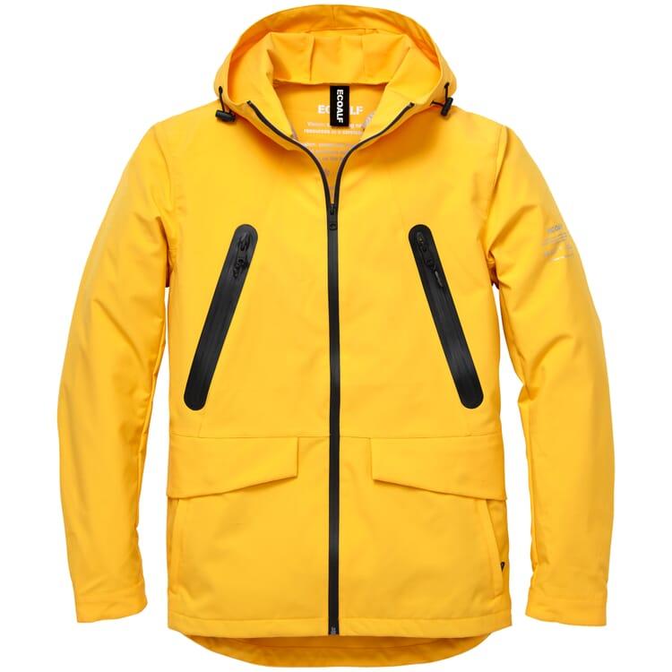 Herren-Wetterjacke, Yellow