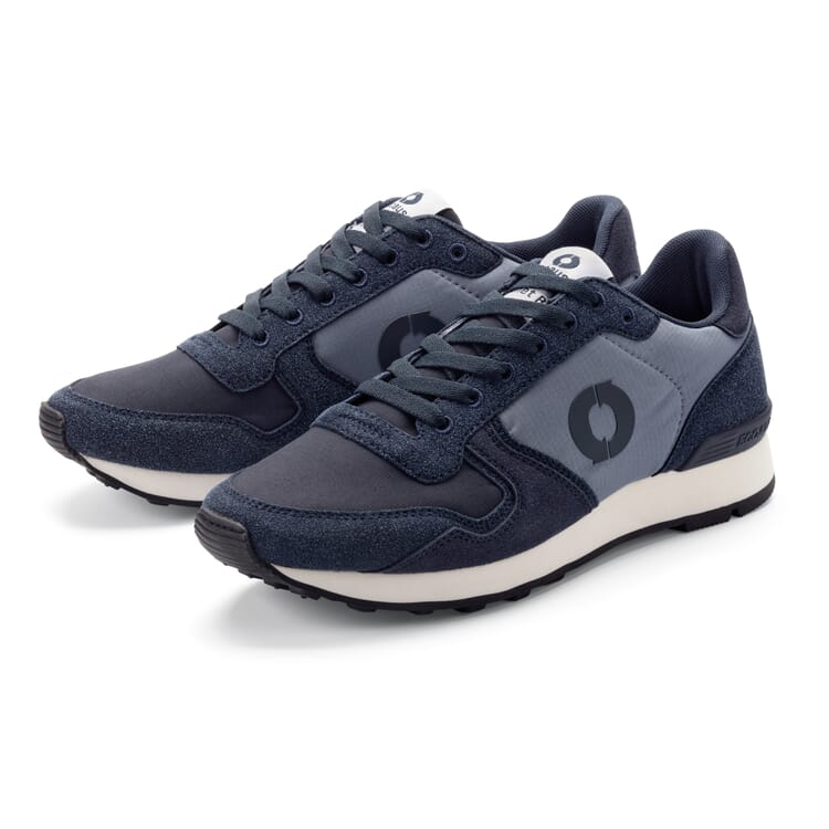 Men's Sneakers with Recycled Polyamid, Blue Hues