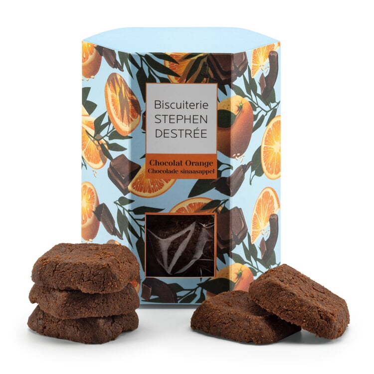 Belgische Biscuits Chocolat Orange