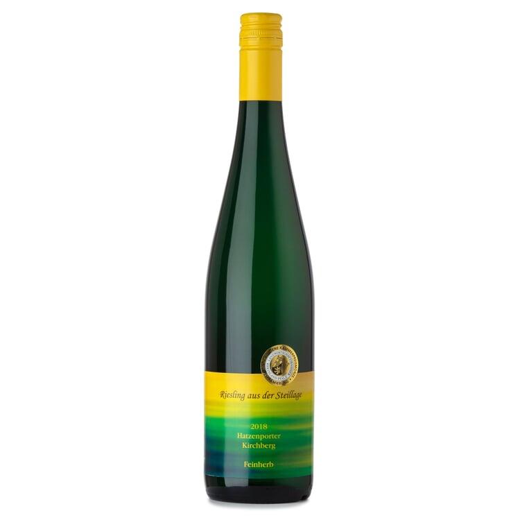 Hatzenporter Kirchberg Riesling Qualitätswein aus der Steillage feinherb