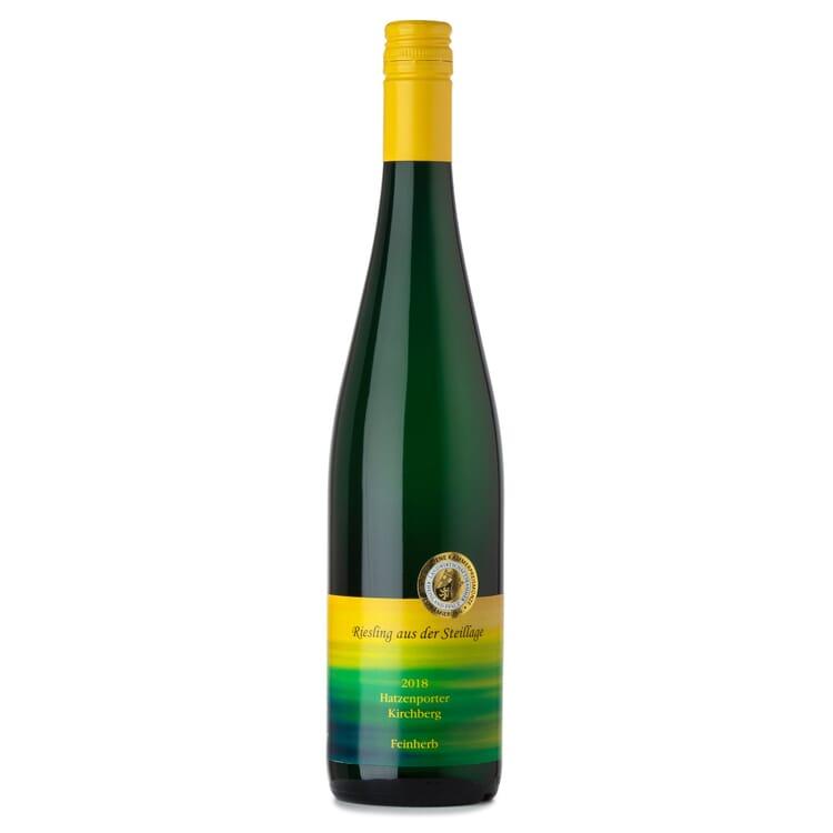 Hatzenporter Kirchberg Riesling Qualitätswein aus der Steillage